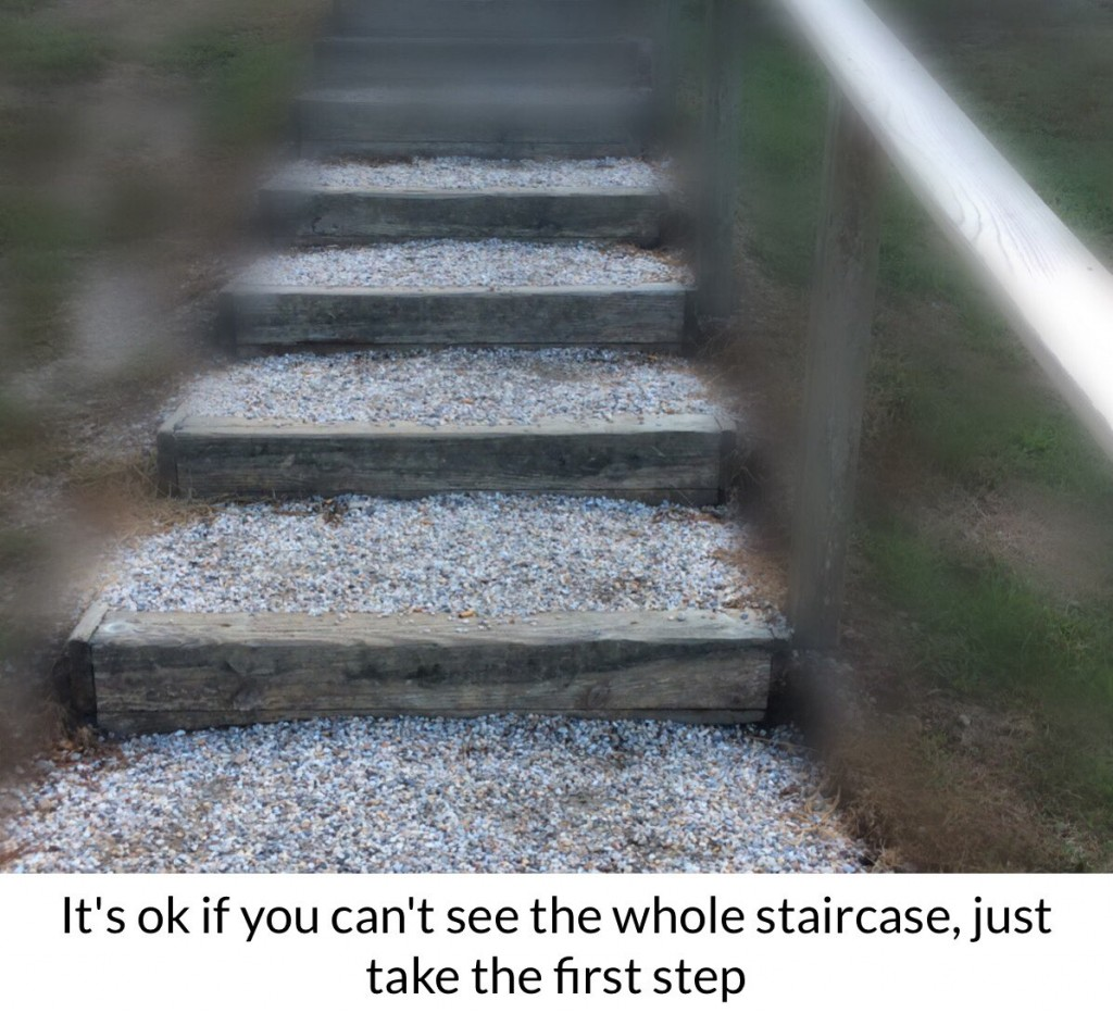 you-just-have-to-take-the-first-step